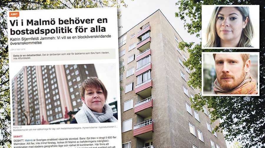 Stjernfeldt Jammehs önskan rimmar illa med den politik som Socialdemokraterna bedriver i Malmö, skriver Stefana Hoti och Måns Berger.