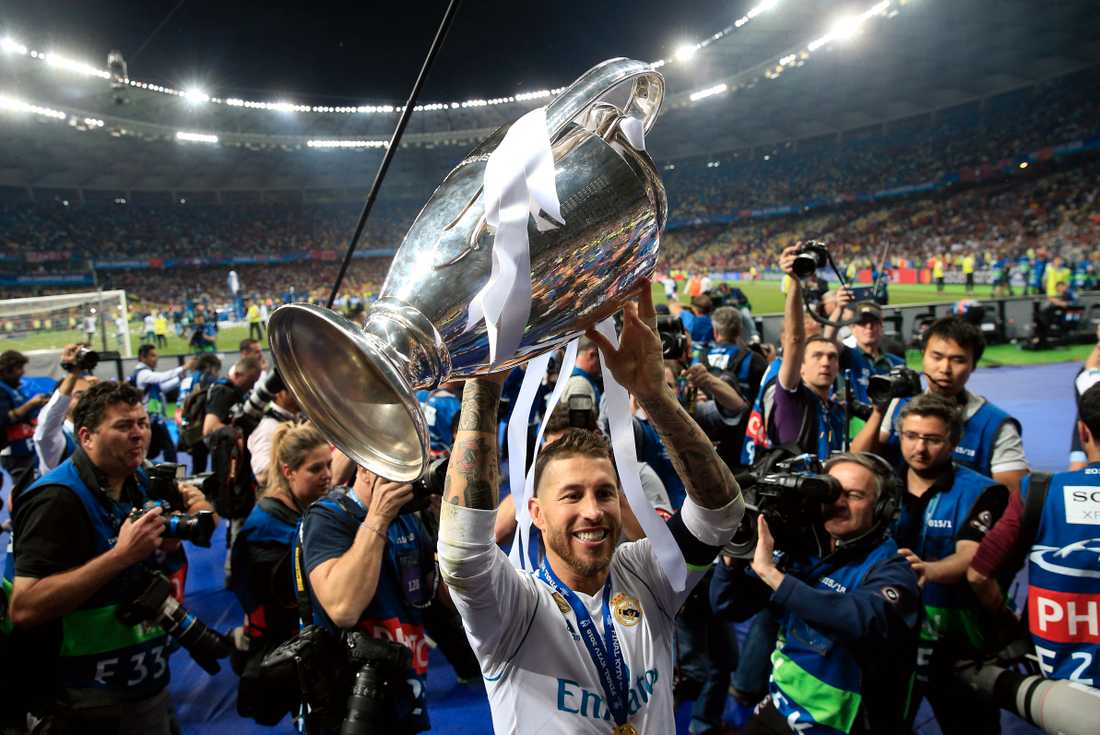 Real Madrid vann Champions League ifjol.