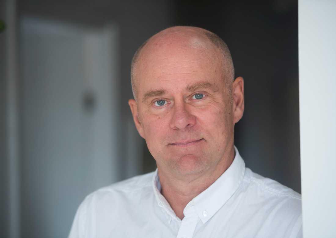 Tv-journalisten Folke Rydén befann sig på stationen när mordet inträffade. Bilden är tagen vid ett tidigare tillfälle.