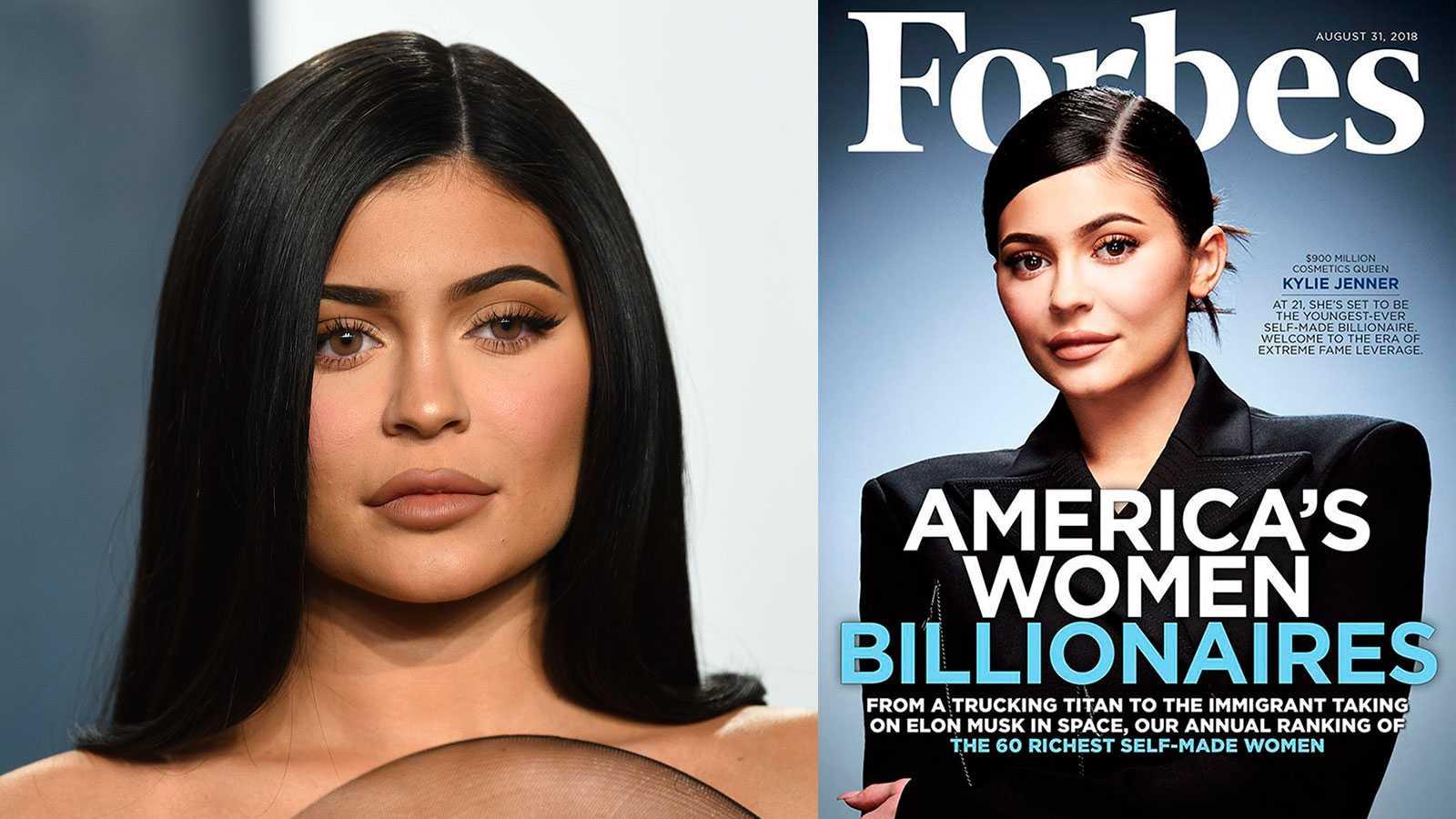 Forbes backar – menar att Kylie Jenner inte är (och aldrig varit) miljardär