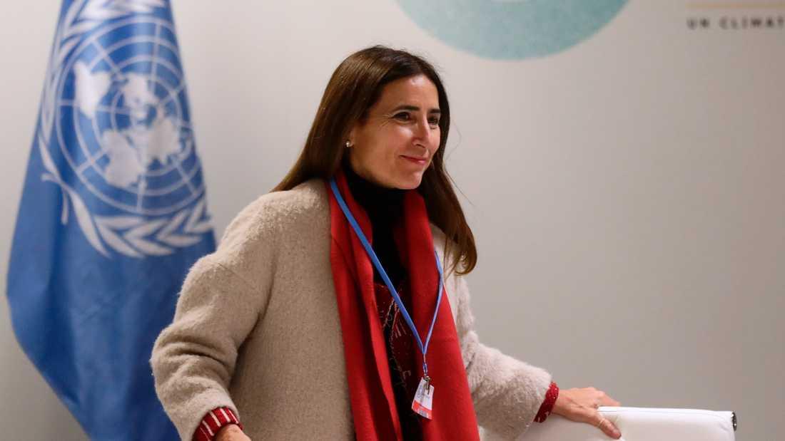 Chiles miljöminister Carolina Schmidt