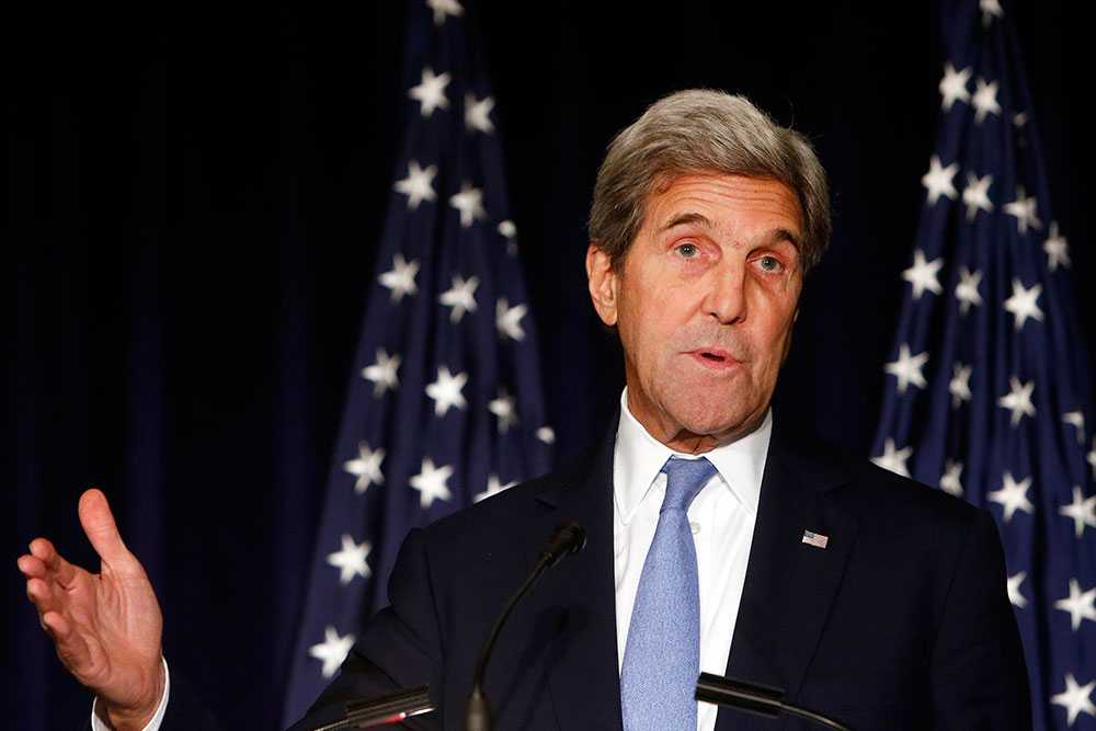USA:s utrikesminister John Kerry.
