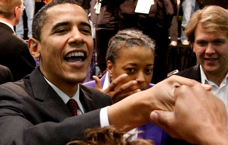 Gratuleras Barack Obama triumferade i delstaten Maine och fick även en Grammy.