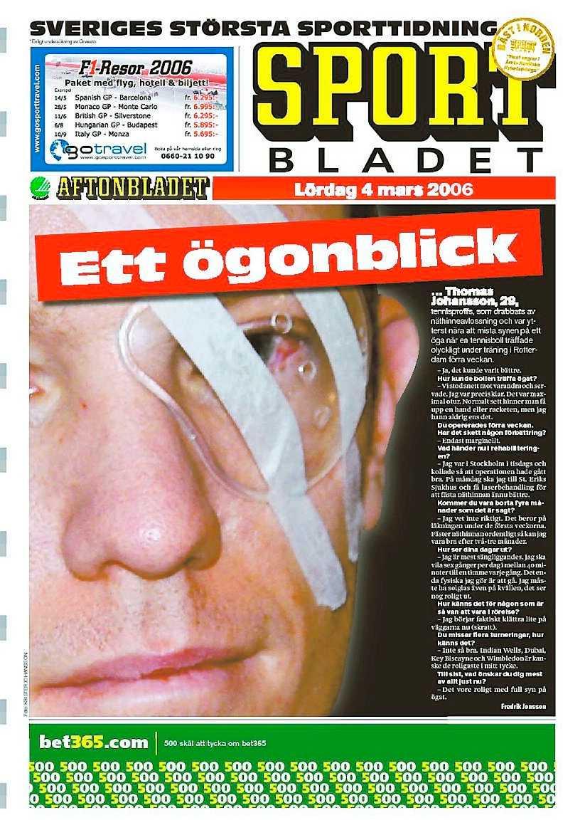 Sportbladet 4 mars 2006.