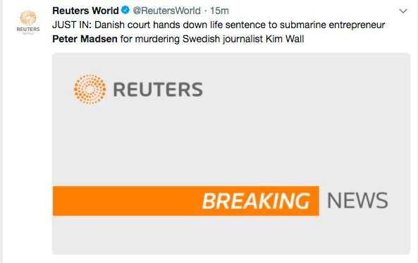 Nyhetsbyrån Reuters.