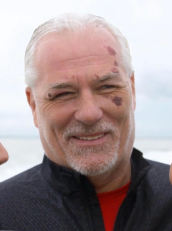 """Glenn Hysén under kvällens premiär av """"Fångarna på fortet""""."""