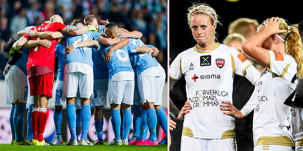 Tusen gånger mer, det är vad Malmö FF tjänar på sitt Europa-spel jämfört med Rosengård.
