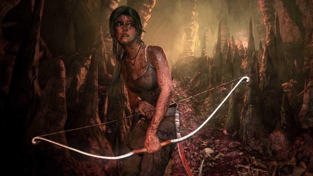 """""""Tomb raider: Definitive edition"""" till Playstation 4."""