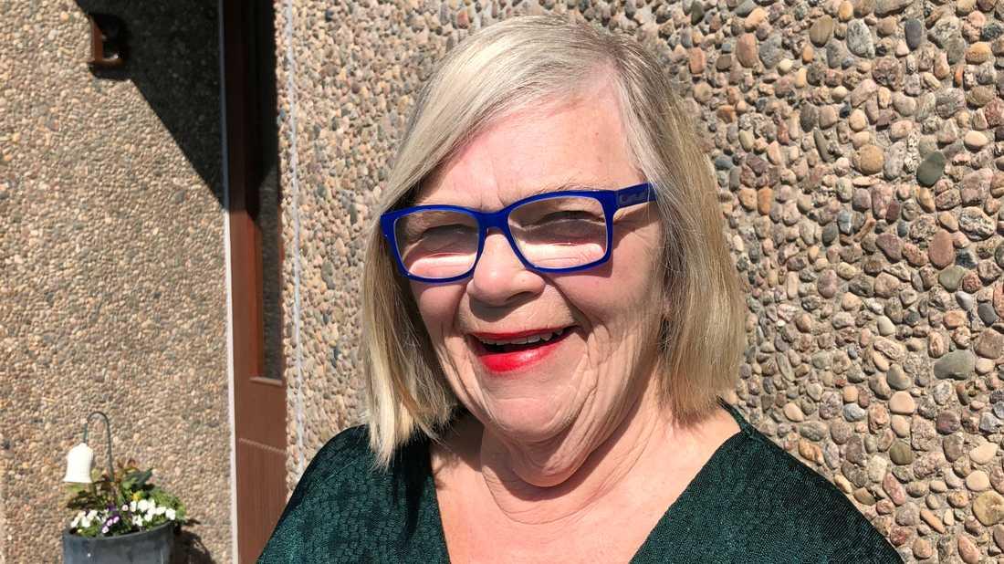"""""""Nu så behöver man inte längre känna sig som en fånge"""" säger Eva Persson från Mölndal."""