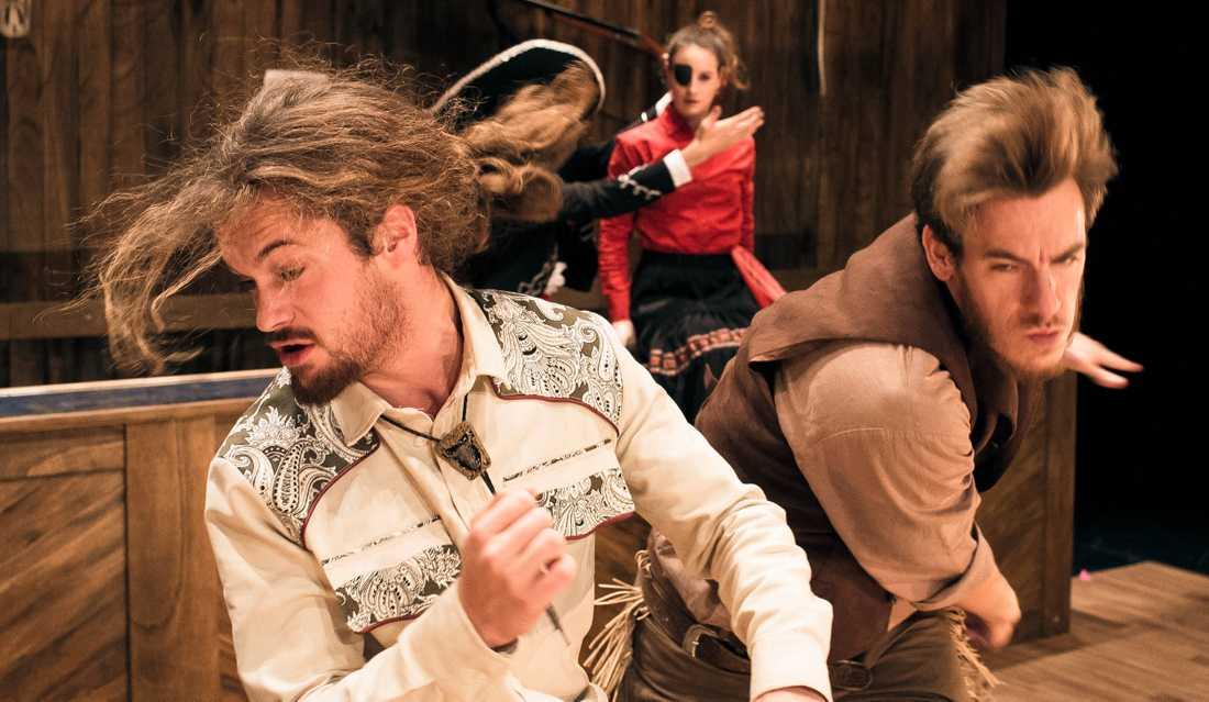 Nature Theater of Oklahoma och EnKnap gästspelar i Malmö med The Pursuit of Happiness