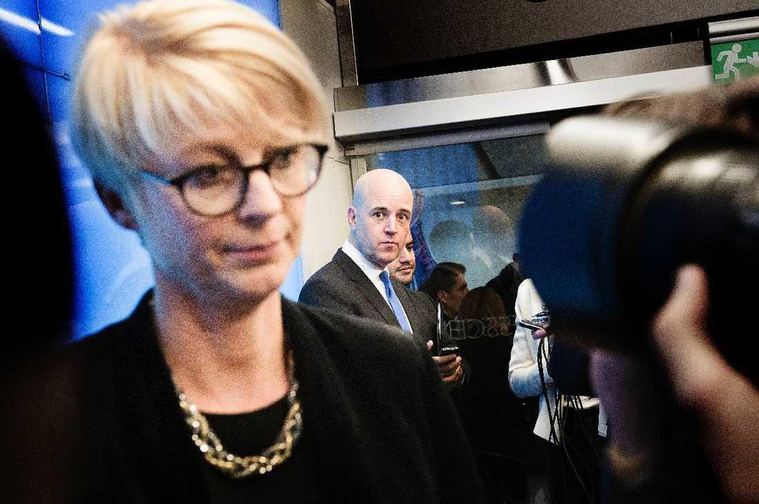 KONTROVERSIELLT VAL Den konservativt kristna Elisabeth Svantesson har utsetts till ny arbetsmarknadsminister av statsminister Fredrik Reinfeldt.