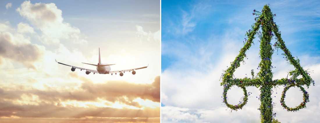 Under midsommar går priserna på resor ofta upp, så även 2019.