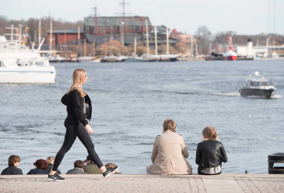 Vår i Stockholm. Arkivbild.