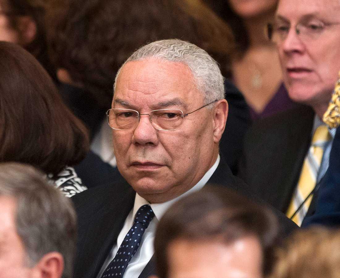 Colin Powell var USA:s utrikesminister mellan 2001 och 2005, under den dåvarande republikanske presidenten GeorgeW Bush. Arkivbild.