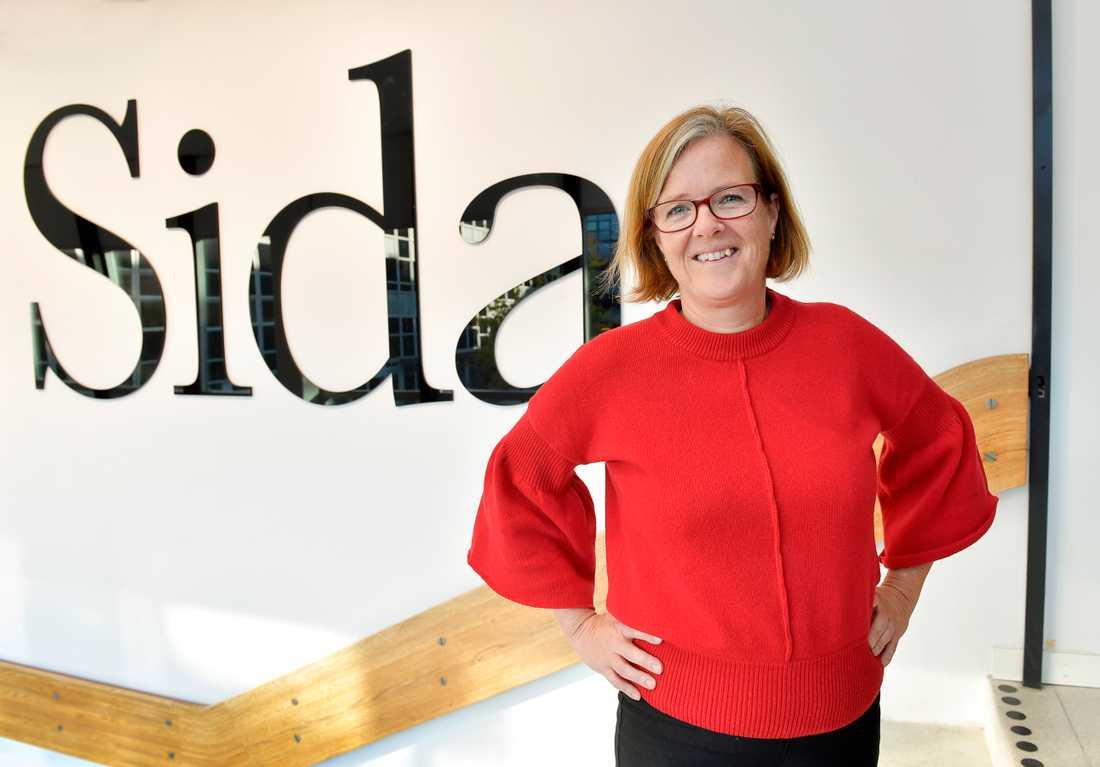 Ska det bli Carin Jämtin som blir ny utrikesminister? Hon är nu generaldirektör på Sida och tidigare biståndsminister och partisekreterare för Socialdemokraterna.