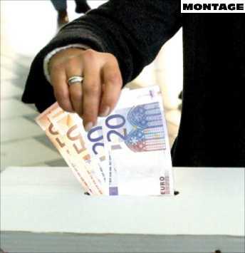 hotad I och med den ekonomiska krisen har förtroendet för euron försvagats.