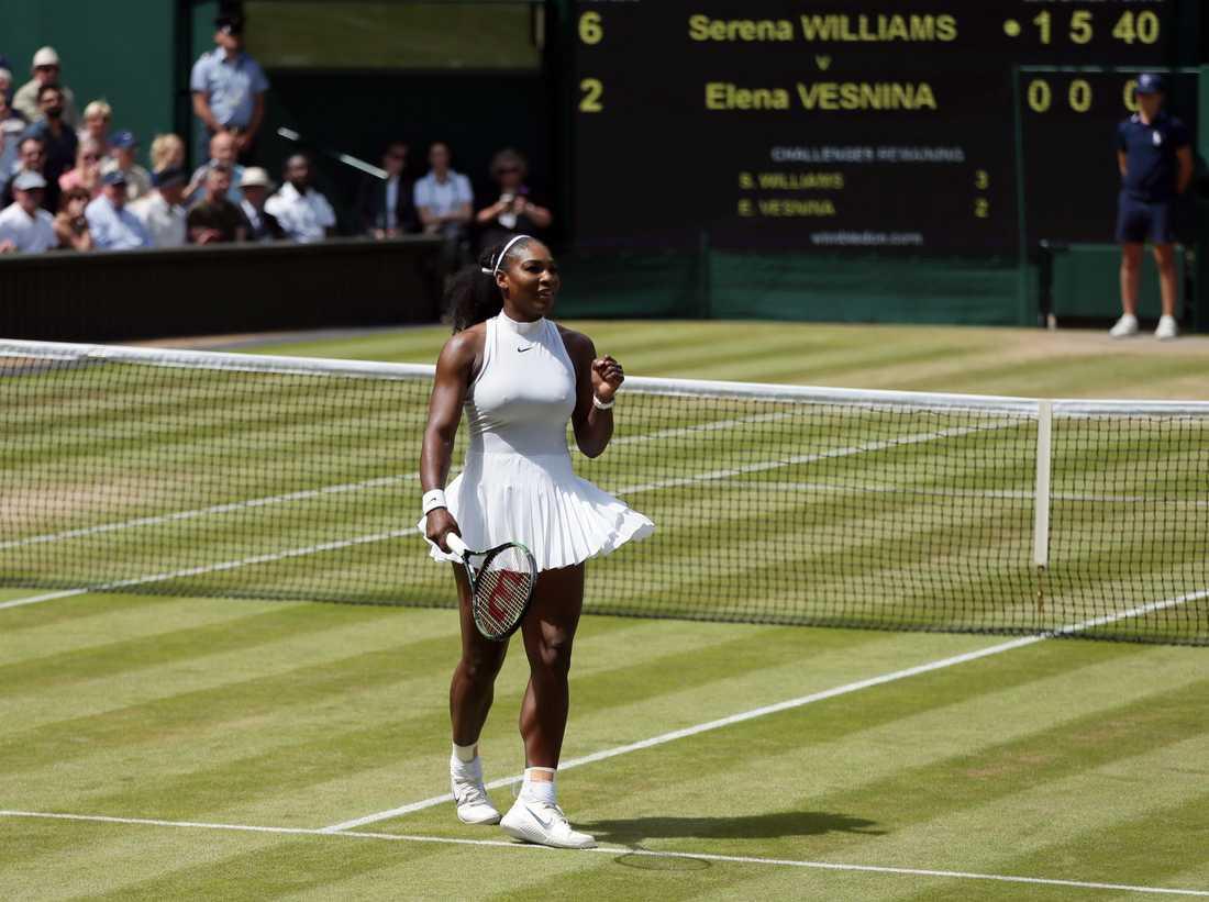 Serena Williams är klar för final – där kan hon få möta systern Venus.