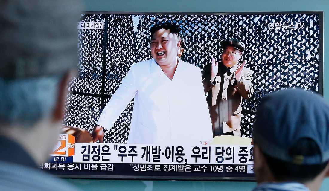 Nordkoreas ledare Kim Jong-Un. Arkivbild.