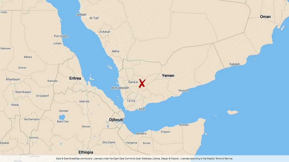 Marib i Jemen.