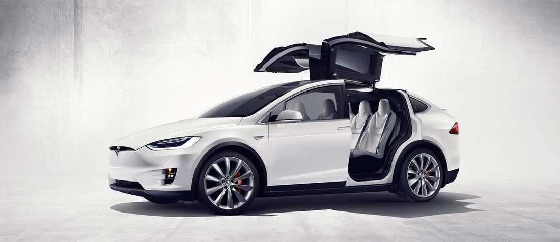 Tesla Model X – första suven från Tesla.