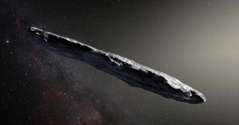 Harvard-forskare om Oumuamua: Kan vara ett rymdskepp