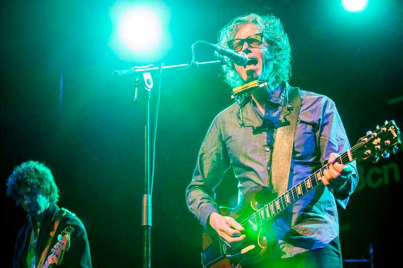 """Gary Louris i The Jayhawks. Som Hot Chocolate en gång skaldade: """"I believe in miracles since you came along, you sexy thing""""."""