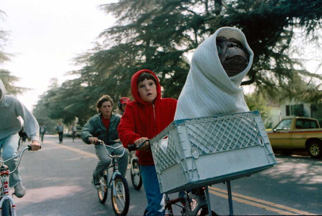 """Henry Thomas som Elliott i """"E.T.""""."""