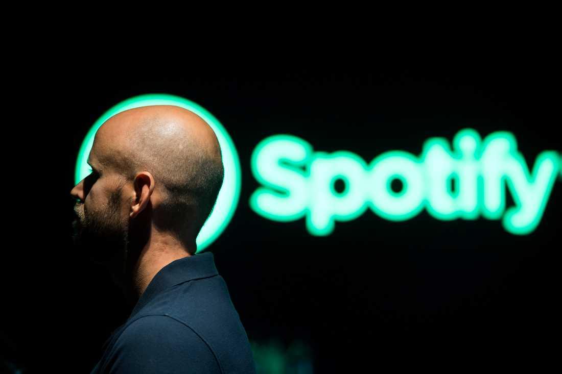 Spotifys grundare Daniel Ek. Arkivbild.
