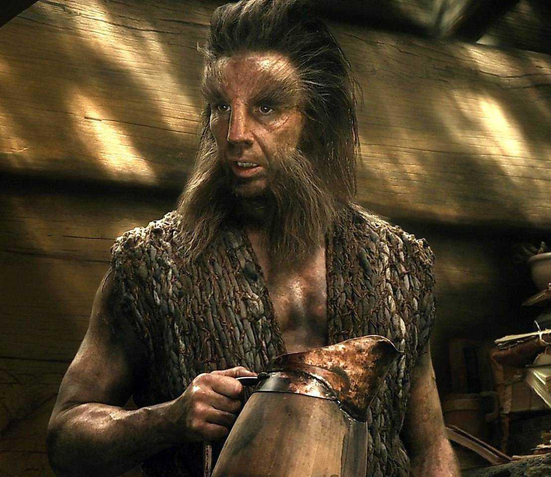 """Persbrandt som Beorn i """"Hobbit""""."""