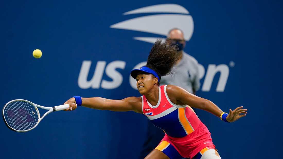 Naomi Osaka är vidare till final i US Open.