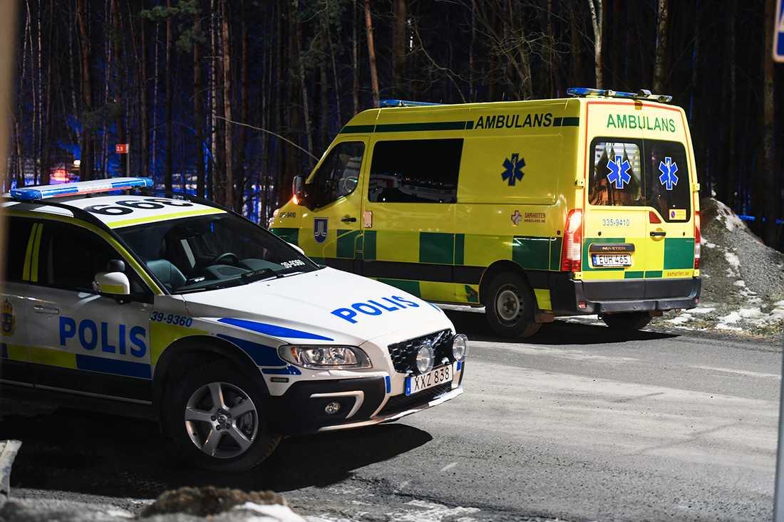 Polispådrag i Järfälla.