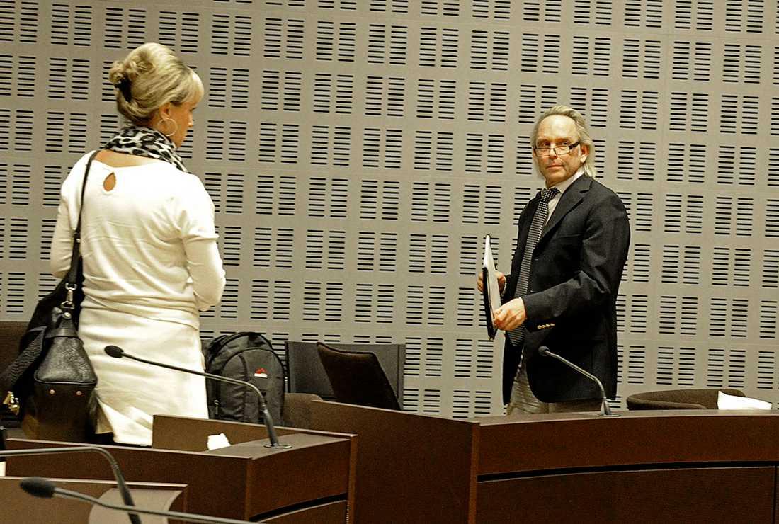 Olof Skipper i rätten. Foto: Per-Olof Sännås