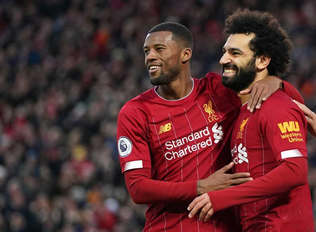 Liverpool är ett par segrar från att säkra ligatiteln.