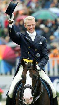 Jan Brink på hästen Briar.
