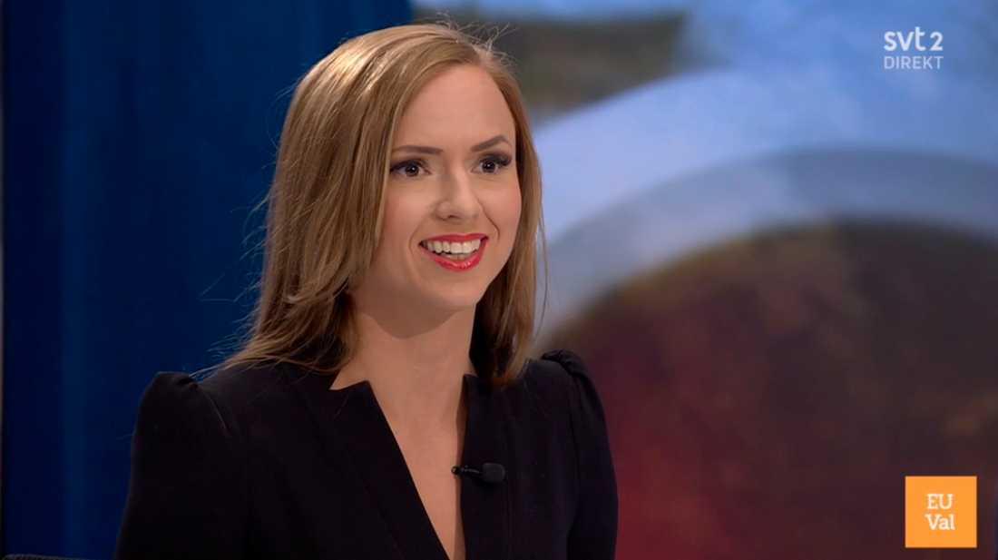Sara Skyttedal frågades ut i SVT.