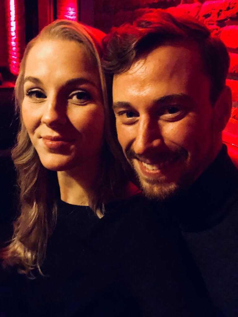 Lotta Möller och Viktor Mickelsson
