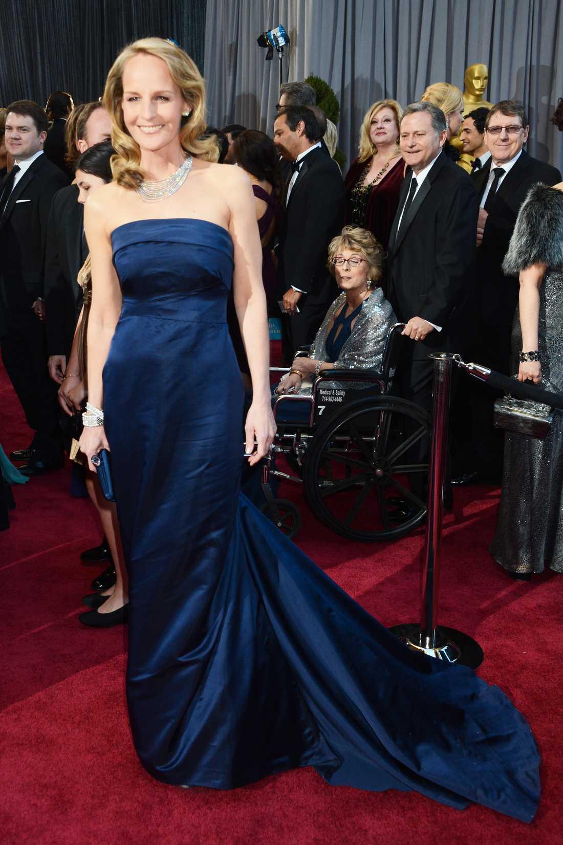 Helen Hunts klänning framifrån.