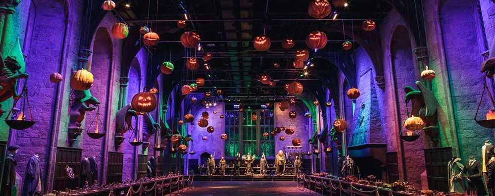 Hogwarts i London kommer att kläs om för Halloween.