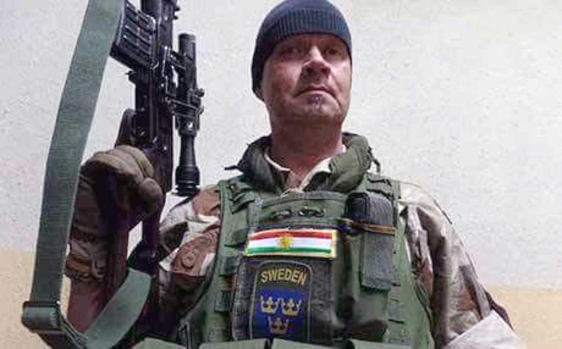 Tony har slagits mot IS i norra Irak.