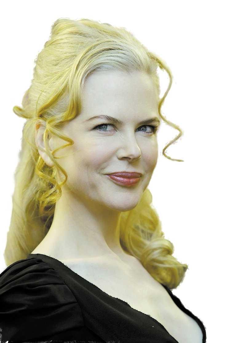 Nicole Kidman har panna som en platt-tv – enligt Sharon Osbourne.