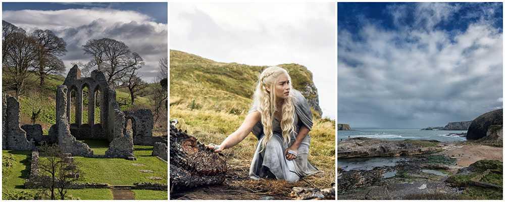 Här är inspelningsplatserna från Game of Thrones du kan besöka på Nordirland.