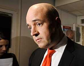 Statsminister Fredrik Reinfeldt.