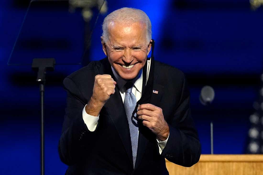 Dags för Joe Biden att ta över.