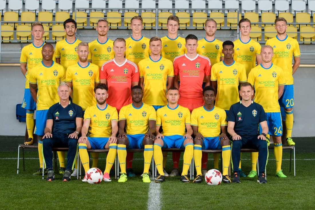 Sverige kvalar till U21-EM 2019 i Italien och San Marino