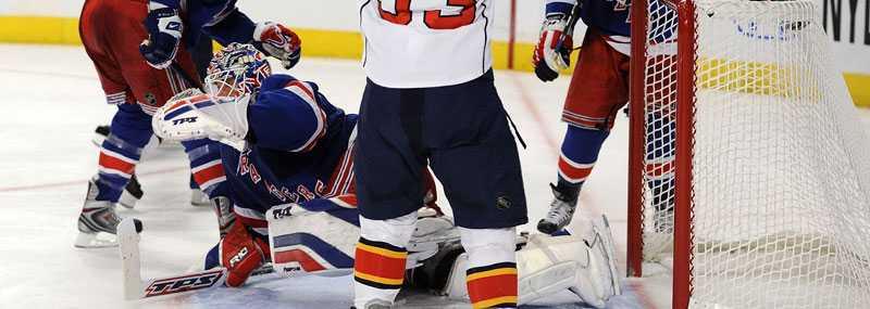 Henrik Lundqvists Rangers förlorade i natt.
