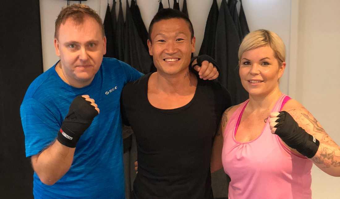 Joacim Rahm och Ingela Laméus ska tillsammans med Viktklubb och Mårten Nylén komma i form till sommaren.
