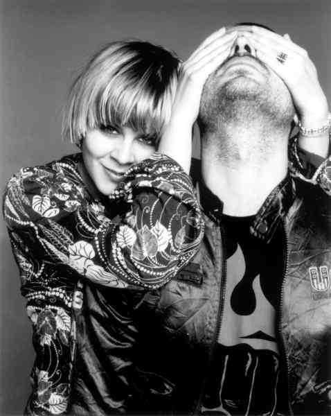 Robyn och Christian Falk. Året är 1999.