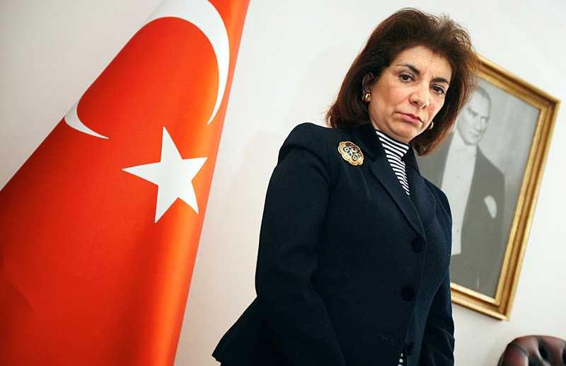 Turkiets ambassadör i Sverige, Zergün Korutürk.