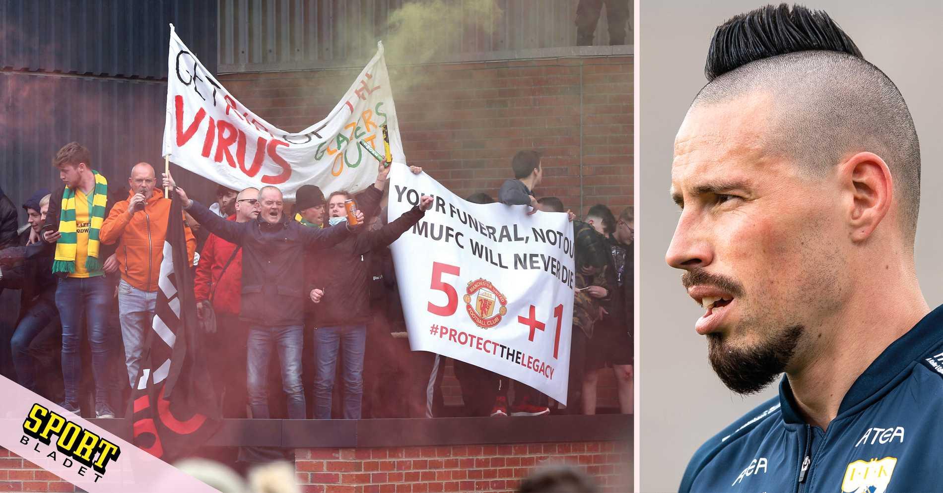 """Hamsik: """"Uniteds fans har gått för långt"""""""