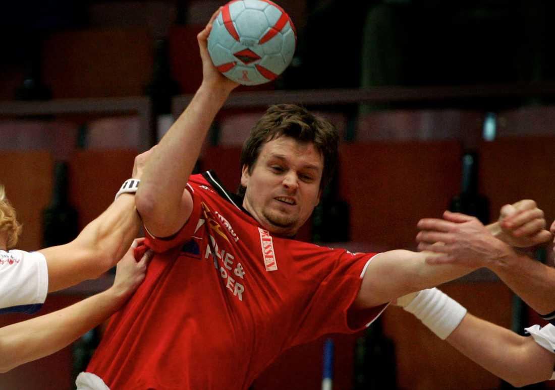 Arkivbild från 2005, Kristian Berndtsson i action när BK Heid senast var uppe i Elitserien